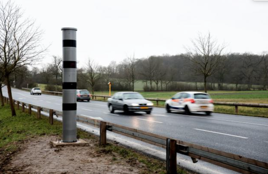 Nieuwe snelheidscamera Luxemburg